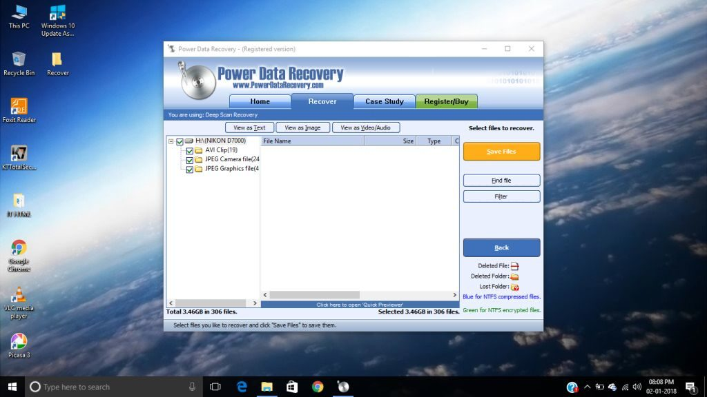 Save Files Power Data Recovery