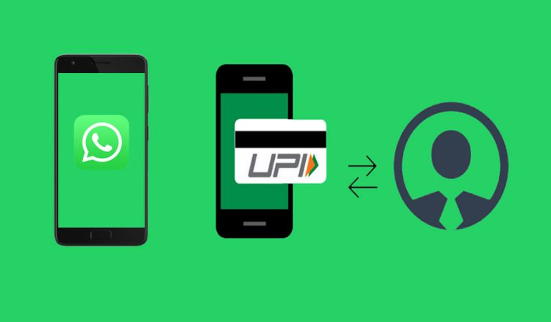 UPI Feature on whatsapp